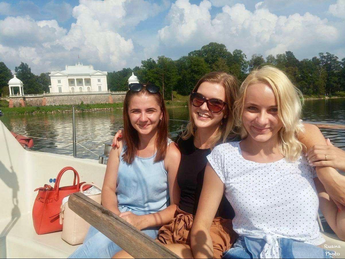trakai girls Lithuania trakai castle island wallpapers, lithuania trakai castle island stock photos.