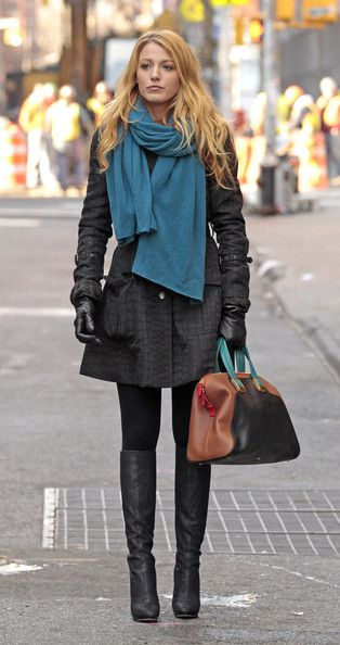 Style inspirations from Gossip Girl.
