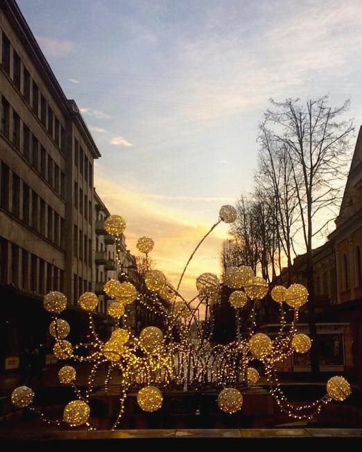 Creative decoration in Kaunas.